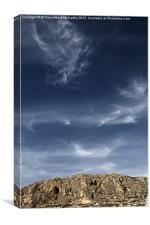 Ghar Lapsi Cliffs, Canvas Print