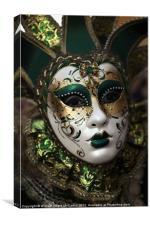 Malta Carnival, Canvas Print