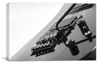 Electric Guitar, Canvas Print