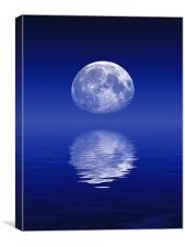 Moonrise, Canvas Print