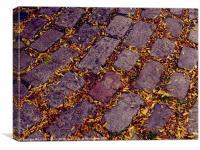 Autumn Street, Canvas Print