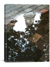 Guildhall on Reflection, Canvas Print