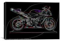Honda CBR, Canvas Print