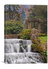 Ricford waterfall, Canvas Print