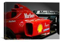 Ferrari F1, Canvas Print