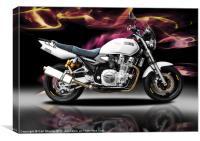 Yamaha XJR 1300, Canvas Print