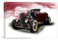Ford Model B Roadster, Canvas Print
