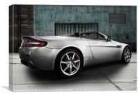 Aston Martin Vantage, Canvas Print