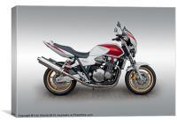 Honda CB1300, Canvas Print