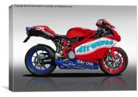 Ducati, Canvas Print