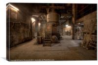 The Limestone Factory, Canvas Print