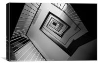 Stairs, Canvas Print