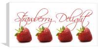 Strawberry Delight, Canvas Print