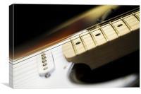 Fender Electric Guitar Canvas Art, Canvas Print