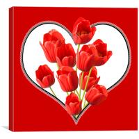 Valentines Day Wall Art, Canvas Print