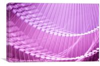 Pink Abstract Wall Art, Canvas Print