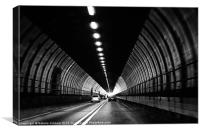 Dartford Crossing Tunnel, Canvas Print