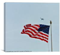 Stars and Stripes, Canvas Print