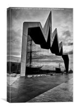 Transport Museum Glasgow, Canvas Print