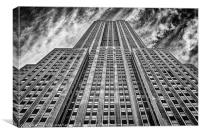 Empire State Bulding 34th Street, Canvas Print