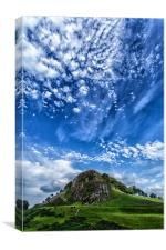Loudoun Hill Big Sky, Canvas Print