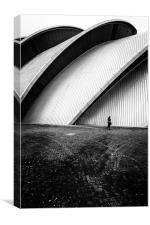 The Armadillo Glasgow, Canvas Print