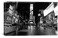 Times square Manhattan, Canvas Print
