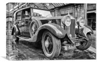 Rolls Royce at Central Station, Canvas Print