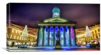 GOMA Glasgow Royal exchange square, Canvas Print