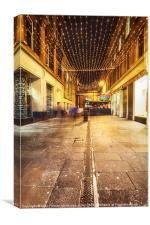 Royal Exchange Square Rogano Bar, Canvas Print