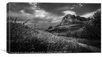 Loudoun Hill, Canvas Print