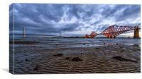 both forth bridges, Canvas Print