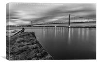 The Forth Road Bridge., Canvas Print