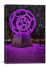 Bucky ball Madison Square Park, Canvas Print