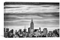 Manhattan Skyline, Canvas Print