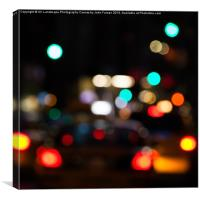 City Lights, Canvas Print