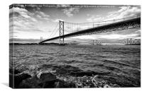 canvas Forth Bridges Scotland, Canvas Print