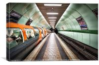 Glasgow Subway, Canvas Print