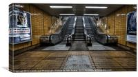 Glasgow Subway Cowcaddens, Canvas Print