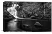 Spectacle ee waterfall, Canvas Print