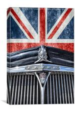 Remember being British, Canvas Print