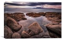 Arran at Sunset, Canvas Print