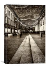 royal exchange square glasgow, Canvas Print
