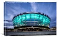 The Hydro Glasgow, Canvas Print