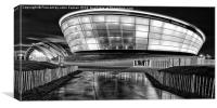 The Hydro and SECC monochrome, Canvas Print