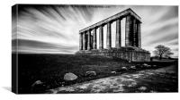 national monument edinburgh, Canvas Print