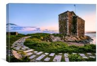 Portencross Castle, Canvas Print