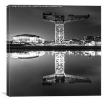 Titan Crane and Hydro, Canvas Print