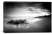 Porthleven Beach, Canvas Print