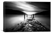 Loch Lomond vista, Canvas Print